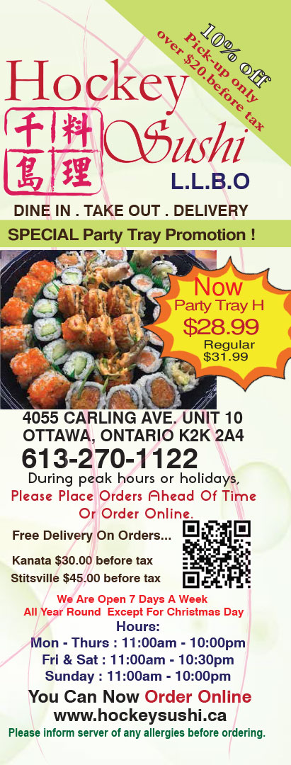 Delivery Take Out Food Brampton
