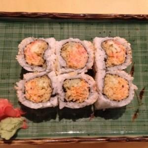 spicy crabmeat 卷